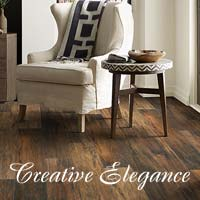 Stop by your local Floors To Go showroom today and explore all of the latest styles and colors of Creative Elegance laminate today!