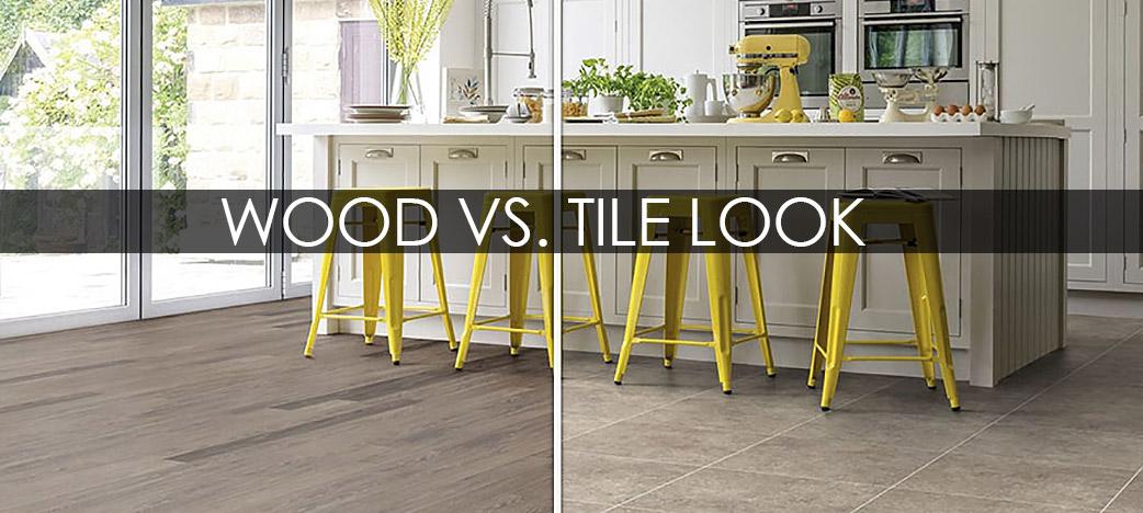 Karndean wood versus tile look flooring