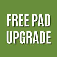Free pad upgrade with any carpet purchase during our Spring Sale